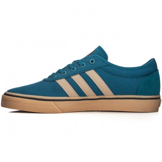 Adidas adi Ease Shoes - Surf Petrol/Cargo Khaki/Black - 7.0