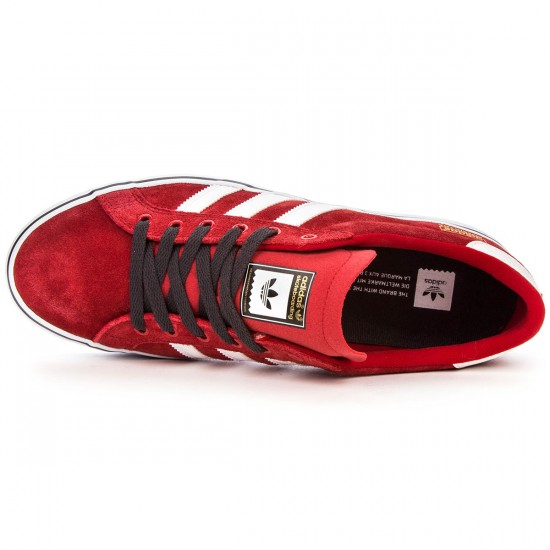 Adidas Americana Shoes - Red/White/Carbon - 4.0