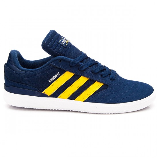 Adidas Busenitz J Kids Shoes - Oxford Blue/Yellow/White - 1.0