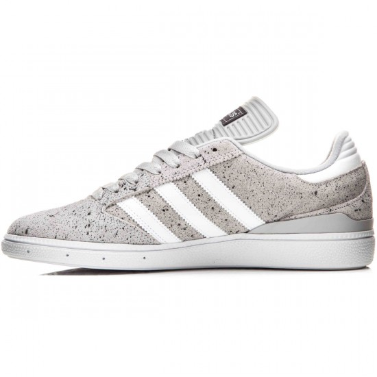 Adidas Busenitz Shoes - Light Grey/White/Silver Metallic - 10.0