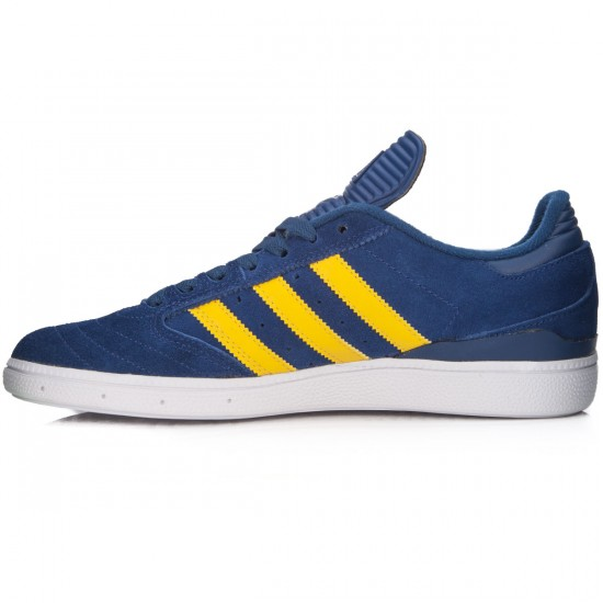 Adidas Busenitz Shoes - Oxford Blue/Yellow/White - 7.0
