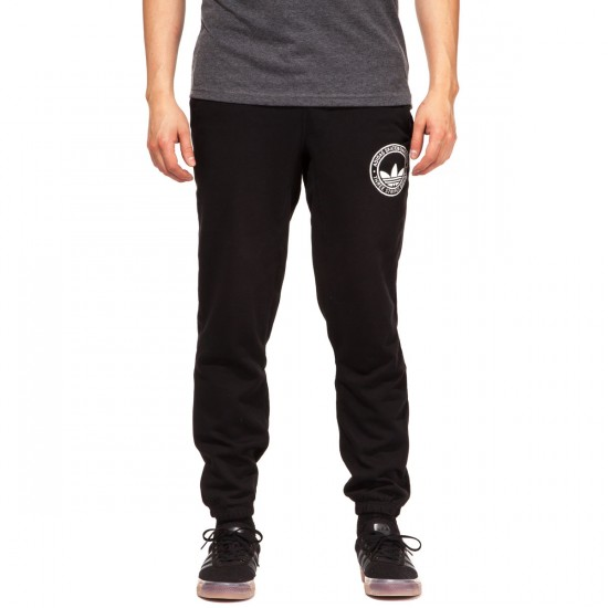 Adidas Clima Skate Sweat Pants - Black - LG