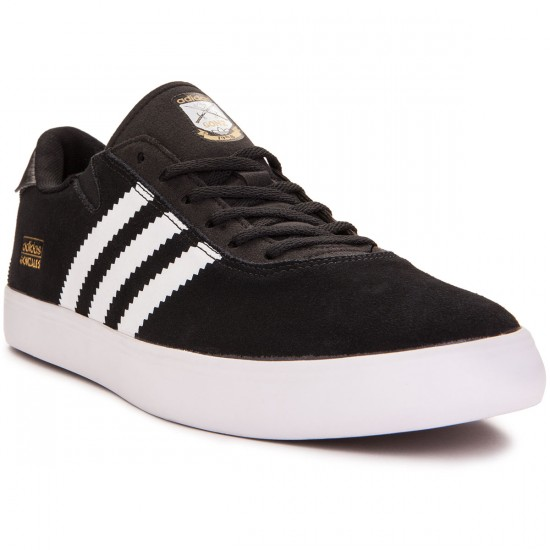 Adidas Gonz Pro Shoes - Black/White/Black - 7.5