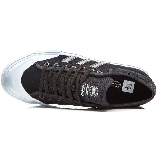 Adidas Matchcourt Shoes - Black/Black/White - 6.0
