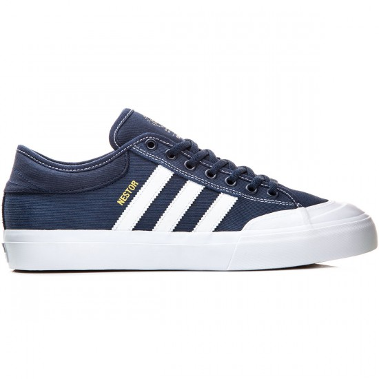 Adidas Matchcourt Shoes - Navy/White/White - 7.0
