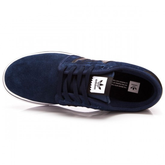 Adidas Seeley J Kids Shoes - Navy/Black/White - 1.0