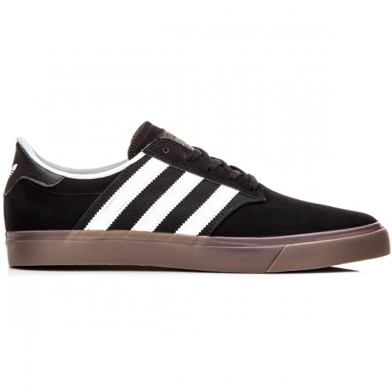 Adidas Seeley Premiere Shoes - Black/White/Gum - 10.0