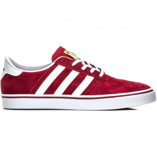 Adidas Seeley Premiere Shoes - Burgundy/White - 10.0