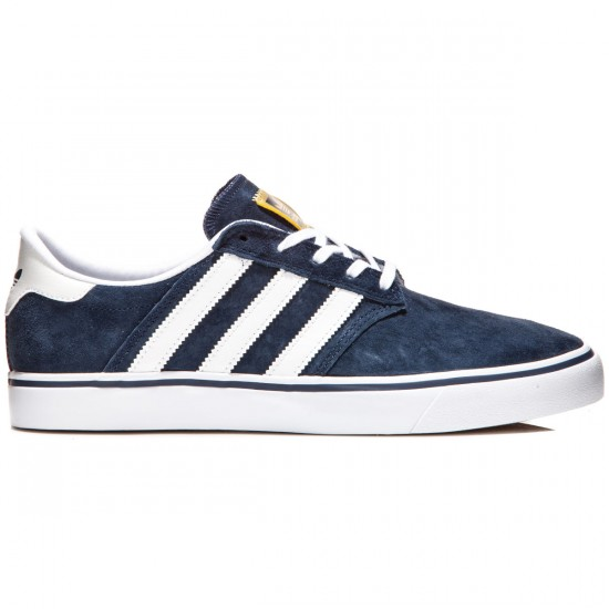 Adidas Seeley Premiere Shoes - Navy/White/White - 8.0