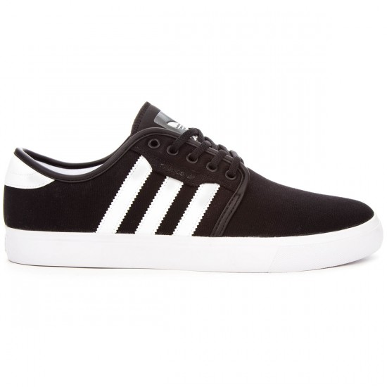 Adidas Seeley Shoes - Black/White/Gum - 8.0