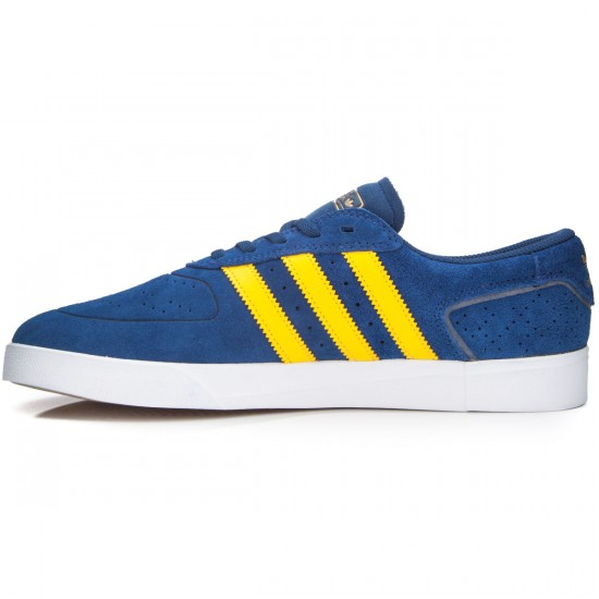Adidas Silas Vulc Adv Shoes - Oxford Blue/Yellow/White - 7.0