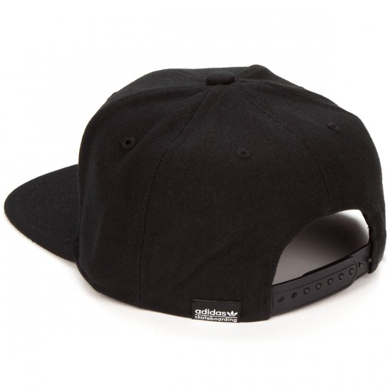 Adidas AS Skate Snapback Hat - Black