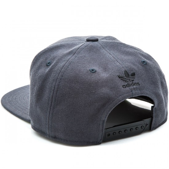 Adidas Thrasher Chain Snapback Hat - Dark Heather Grey/Black