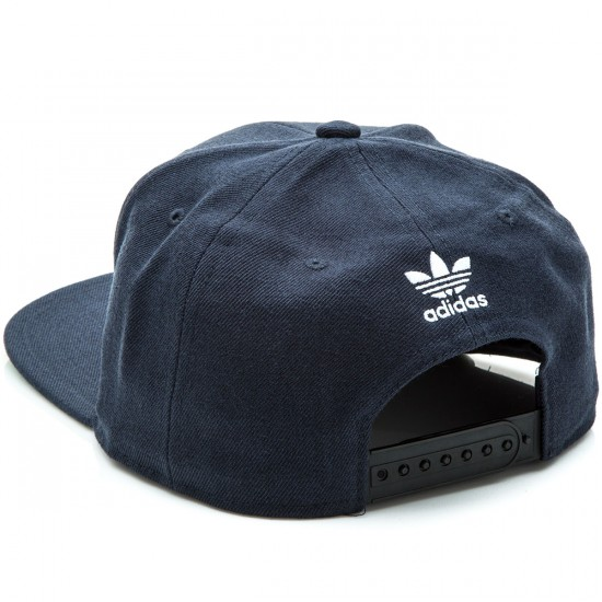 Adidas Thrasher Chain Snapback Hat - Navy/White