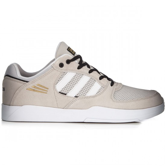 Adidas Tribute Adv Shoes - Stone/White/Black - 8.0