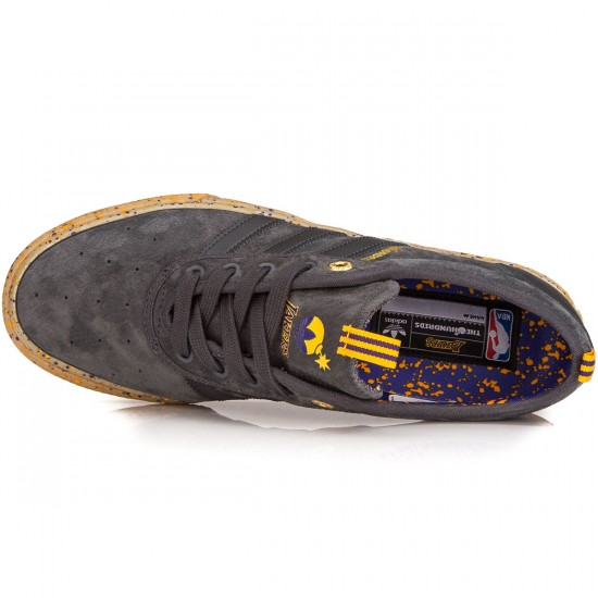 Adidas X The Hundreds Adi-Ease Adv Shoes - Grey/Purple/Gold - 13.0