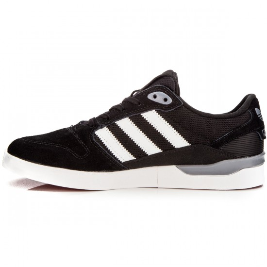 Adidas ZX Vulc Shoes - Black/White/Red - 8.5