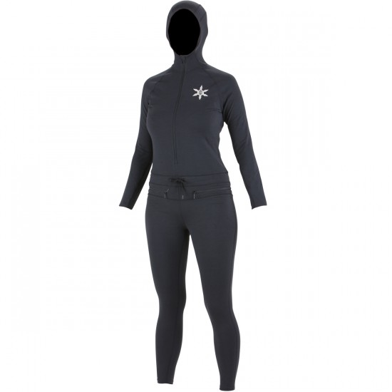 Airblaster Ninja Suit Women's Base Layer 2015 - Black
