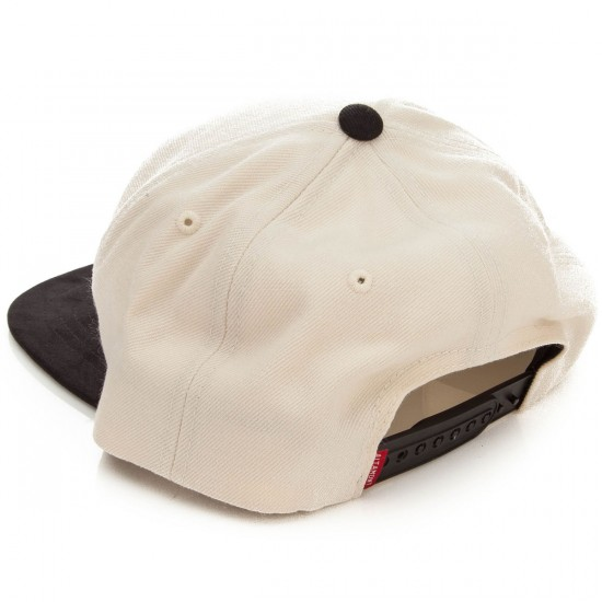 Altamont Qualifier Snapback Hat - Natural