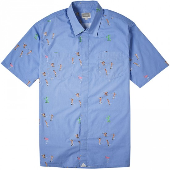 Altamont Skatebirds Shirt - Blue