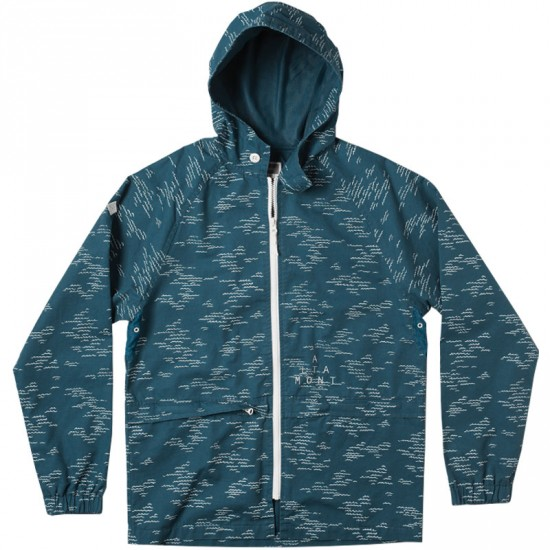 Altamont Wavy Jacket - Blue