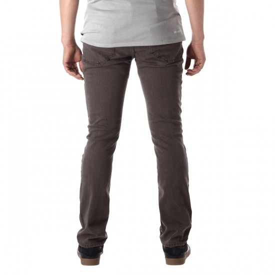 Altamont Wilshire Straight Pants - Grey - 30 - 30