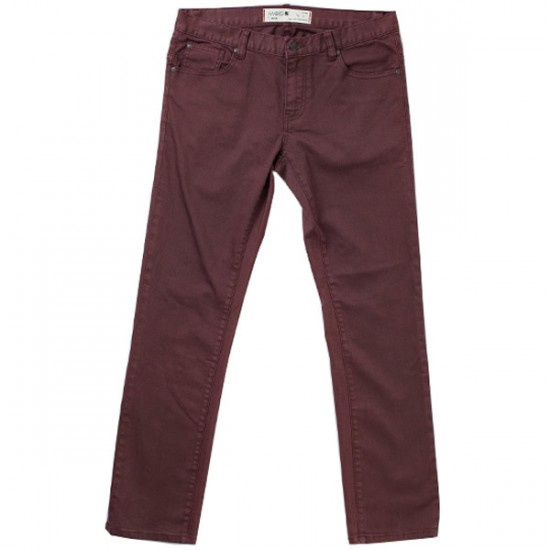Ambig Raleigh Gripper Pants - Burgundy - 33 - 32
