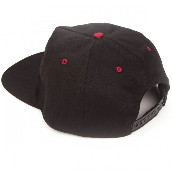 Ambig Rounders 5 Panel Hat - Black