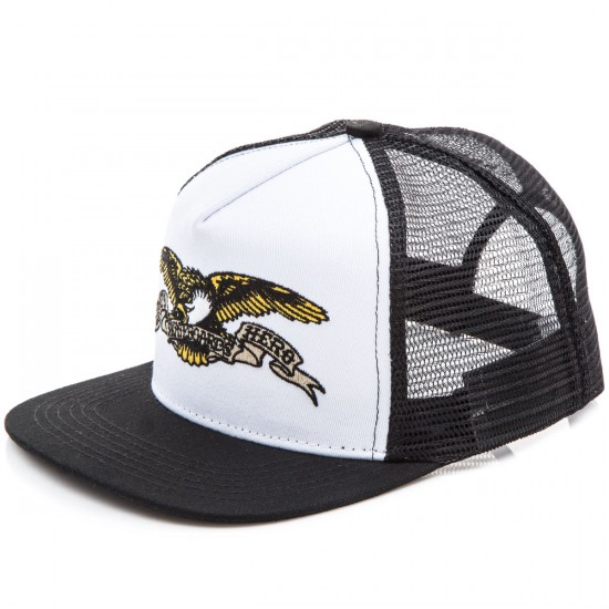 Anti-Hero Eagle Trucker Hat - White/Black
