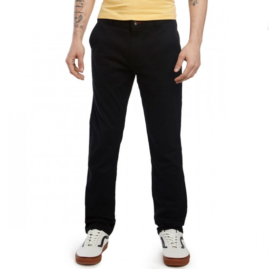 CCS Clipper Slim Fit Chino Pants - Black - 28 - 32