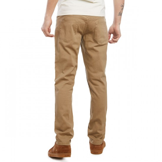 CCS Clipper Slim Fit Chino Pants - Khaki - 29 - 28