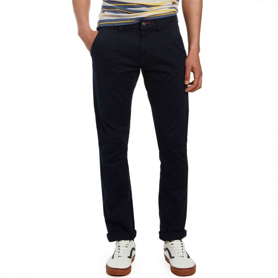 CCS Straight Fit Chino Pants - Navy - 40 - 32