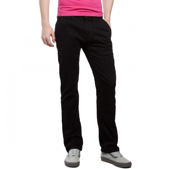 CCS Straight Fit Chino Pants - Black
