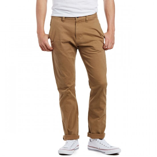 CCS Straight Fit Chino Pants - Khaki - 29 - 30