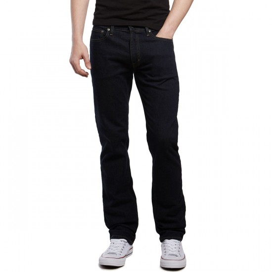 CCS Banks Slim Straight Fit Jeans - Dark Indigo - 28 - 30