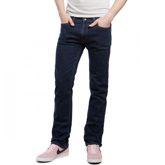 CCS Banks Slim Straight Fit Jeans - Light Indigo - 36 - 34