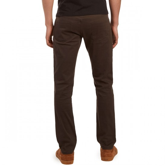 CCS Slim Fit 5 Pocket Twill Pants - Carbon - 28 - 30