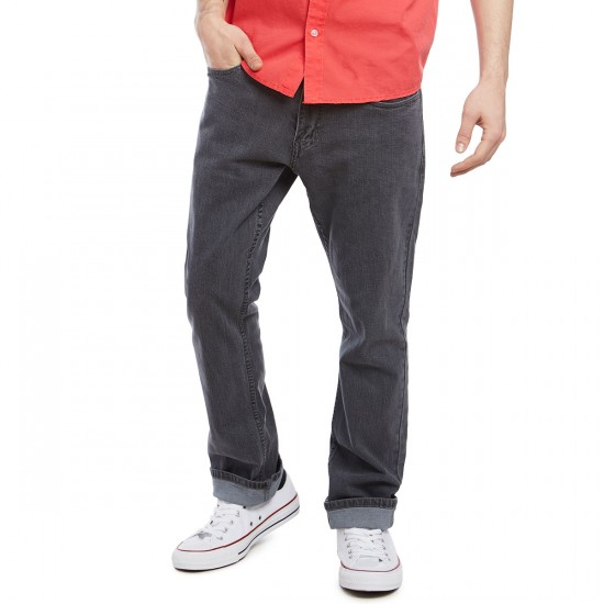 CCS Banks Slim Straight Fit Jeans - Grey - 28 - 32