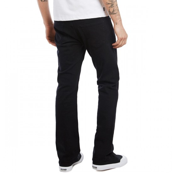 CCS Banks Straight Fit Jeans - Black - 30 - 30