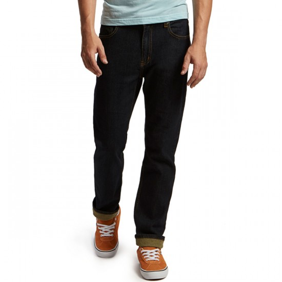CCS Banks Straight Fit Jeans - Dark Indigo - 40 - 32