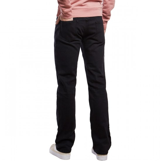 CCS Straight Fit Jeans - Washed Black - 30 - 30