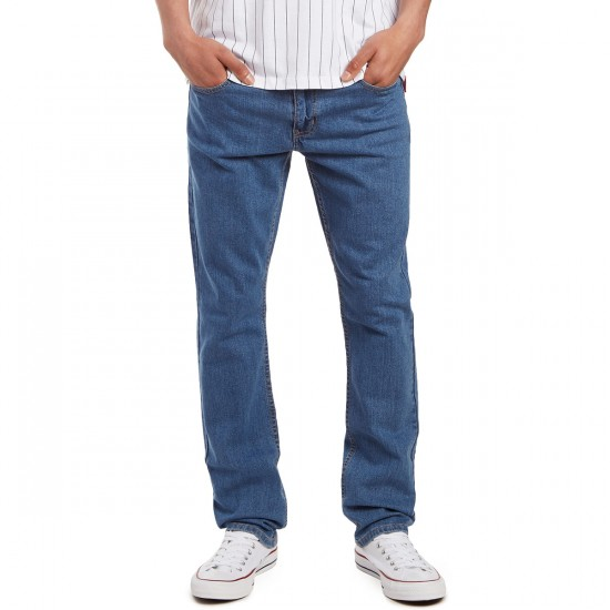 CCS Banks Slim Straight Fit Jeans - Washed Light Blue - 30 - 30