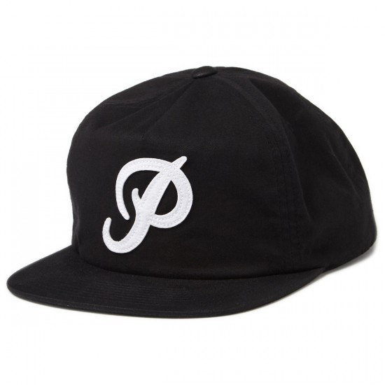 Primitive Clifton Strapback Hat - Black