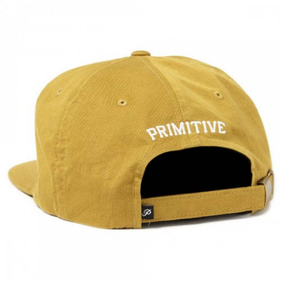 Primitive Clifton Strapback Hat - Brass