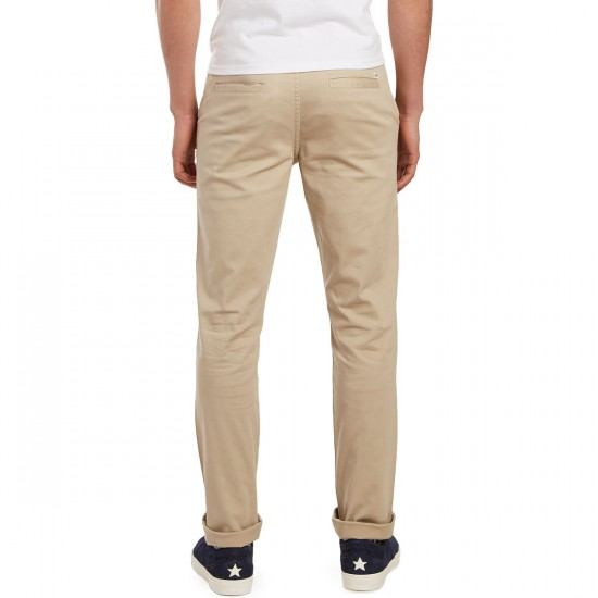 CCS Clipper Slim Fit Chino Pants - Light Khaki - 29 - 28