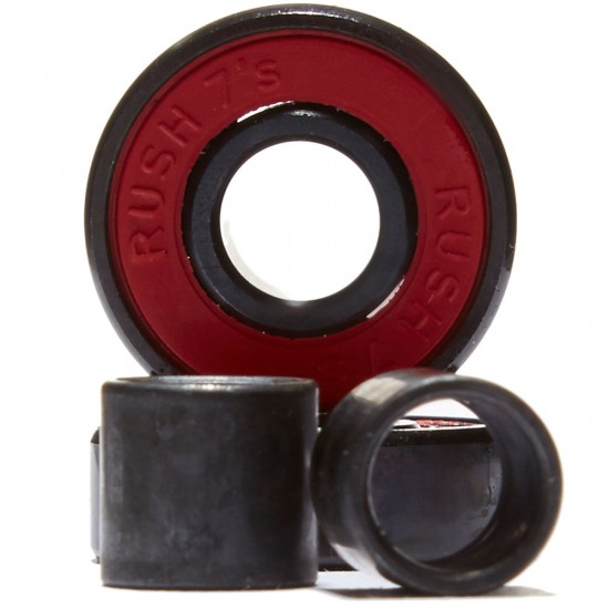 Rush Abec 7 Skateboard Bearings With Spacers