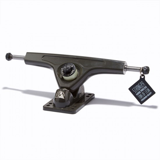 Atlas Truck Co. Longboard Trucks - 180mm 40 Degree  - Black
