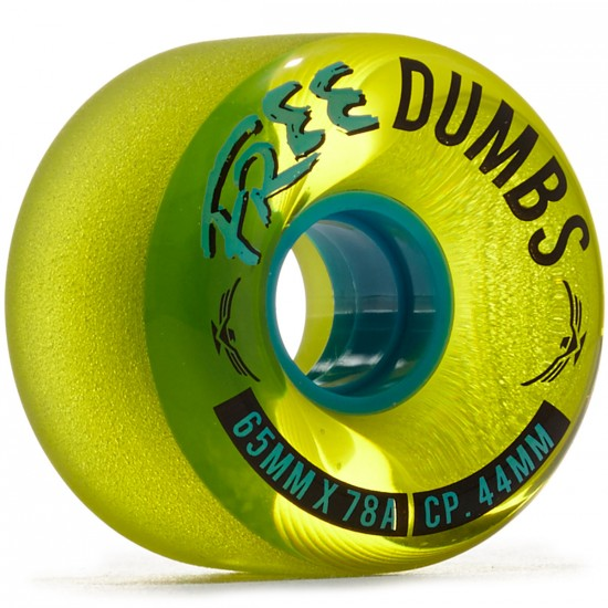 Free Dumbs V2 Longboard Wheels - 64mm 78a