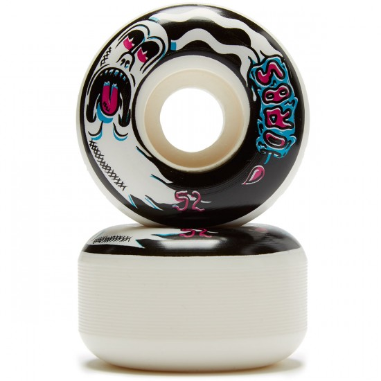 Welcome Orbs Preternaturals Skateboard Wheels - White/Pink/Blue - 52mm 100A