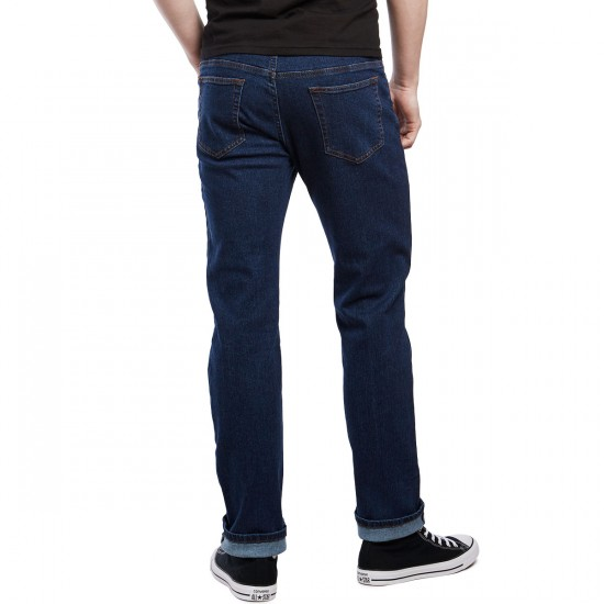 CCS Relaxed Fit Jeans - Dark Rinse - 28 - 30